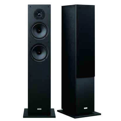 Picture of ONKYO Floor standing Front Speakers . 2x 16cm cone woofers. 1x 2.5cm