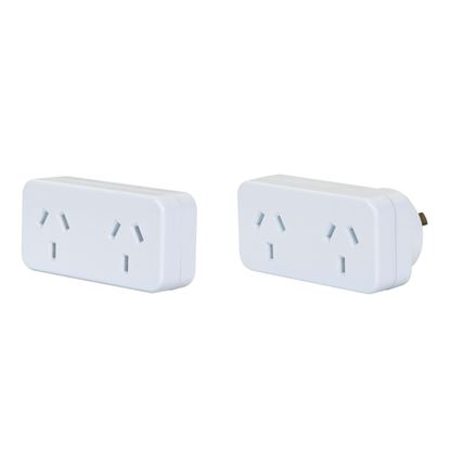 Picture of DYNAMIX horizontal Double Adaptor, A1L-Left Hand, A1R- Right Hand,