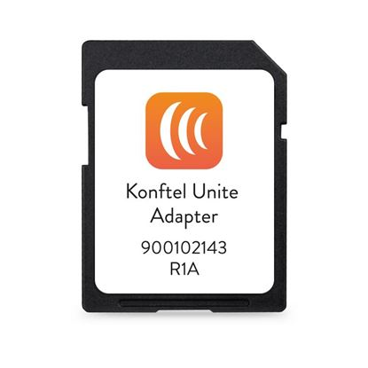 Picture of KONFTEL 300-Series Unite Adapter. Connect up the KONFTEL Unite app