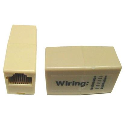 Picture of DYNAMIX Voice Rated RJ11/RJ12, 6x Conductor, 2-Way Joiner