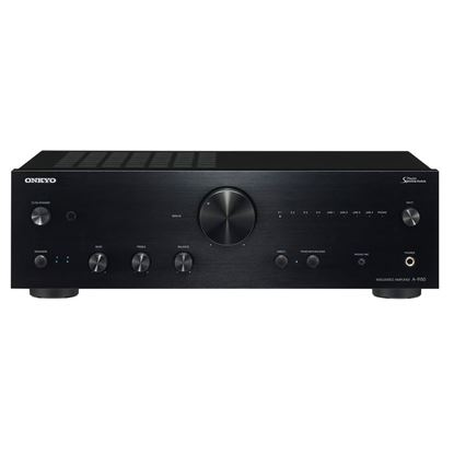 Picture of ONKYO Integrated Stereo Amplifier. High current power supply. Refined