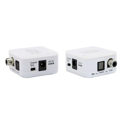 Picture of CYP Digital Audio Converter Coaxial to Toslink. Supports two-way