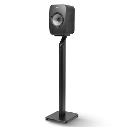 Picture of KEF LSX Floor Stand Black Aluminium Construction, Fillable