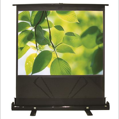 Picture of BRATECK 100' Projector Screen Floor Stand. 4:3 Aspect ratio.