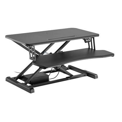 Picture of BRATECK Electric Scissor Lift Desktop Sit-Stand Workstation
