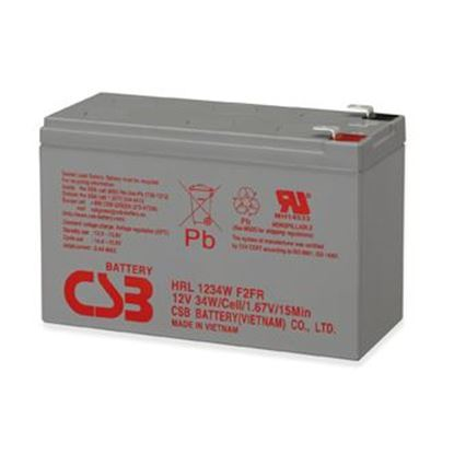 Picture of CSB 12V 34W 9.0 AH Long Life Replacement UPS Battery.