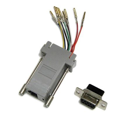 Picture of DYNAMIX DB9 Female to RJ45 Adaptor (8 Wire)