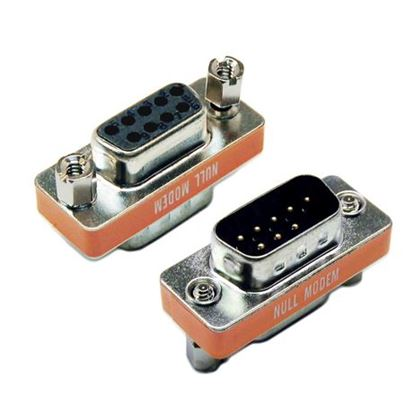 Picture of DYNAMIX DB9 Null Modem Adaptor (DB9 Male/Female Connectors)