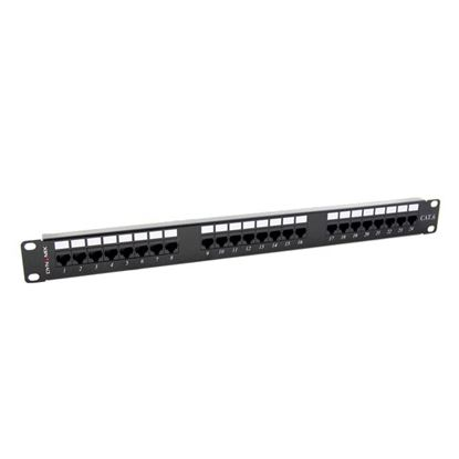 Picture of DYNAMIX 24 Port 19' Cat6 UTP Patch Panel, T568A & T568B
