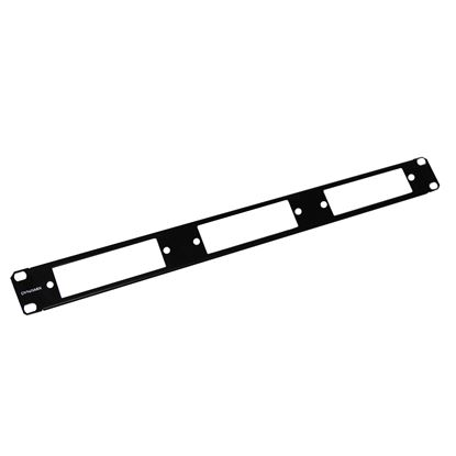 Picture of DYNAMIX 1RU 3 Slot MPO / PLC Cassettes, 19' Rail Mount