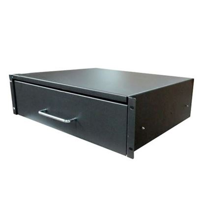 Picture of DYNAMIX 3U Rackmount Lockable Draw, 350mm Deep, 112mm High.