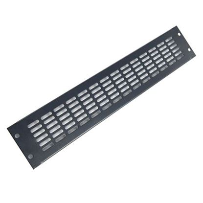 Picture of DYNAMIX 2RU Vented Blanking Panel. Black Colour