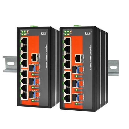Picture of CTC UNION 8 Port Gigabit Managed Switch. -10C~60C.