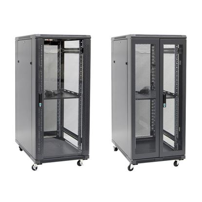 Picture of DYNAMIX 27RU Server Cabinet 1000mm Deep (600 x 1000 x 1410mm) Includes
