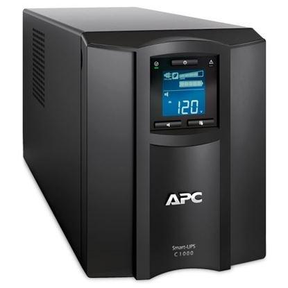 Picture of APC Smart-UPS SMC Series Line Interactive. 1000VA (600W) Tower.