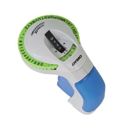 Picture of DYMO Organiser Express Emboss Label Maker. Ergonomic Design for easy