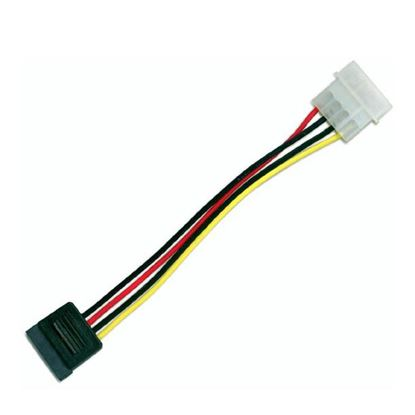 Picture of DYNAMIX 0.17m Serial ATA Power Cable - Converts a standard 5.25