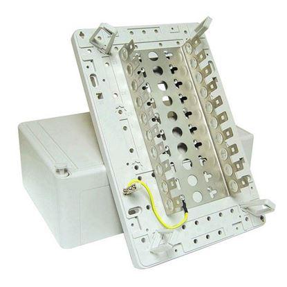 Picture of DYNAMIX 100 Pair Distribution Box (10 x 10 Position). Size: