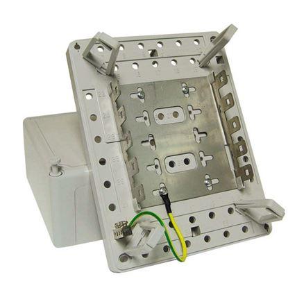 Picture of DYNAMIX 50 Pair Distribution Box (5 x 10 Position). Size: 210 x
