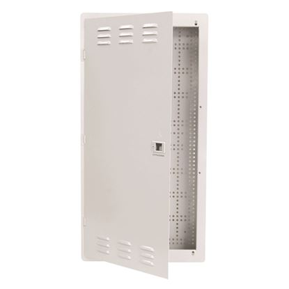 Picture of DYNAMIX 28' FTTH Low Profile Network Enclosure Recessed Wall