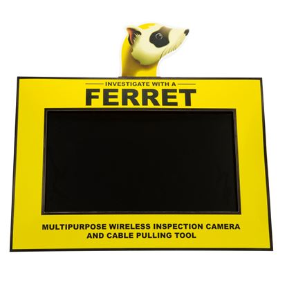 Picture of FERRET Counter Video Display. Display comes Preinstalled with