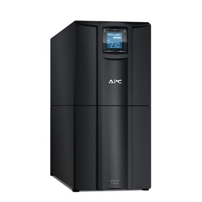 Picture of APC Smart-UPS 3000VA (2100W) Tower. 230V Input/Output. 8x IEC C13