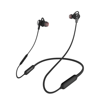 Picture of PROMATE Active Noise Cancelling Bluetooth Earbuds. Ergonomic Design