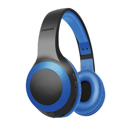 Picture of PROMATE Deep Base Bluetooth V5.0 Wireless Over-ear Headphones.