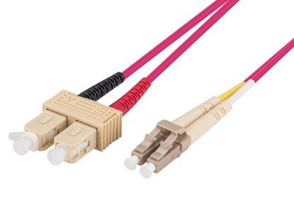 Picture of DYNAMIX 10M 50u SC/SC OM4 Fibre Lead (Duplex, Multimode)