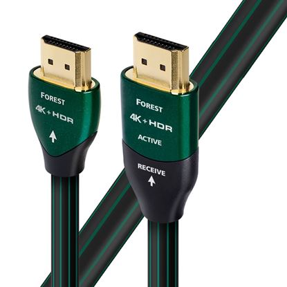 Picture of AUDIOQUEST Forest 12.5M active HDMI cable.0.5% silver. Solid conductors