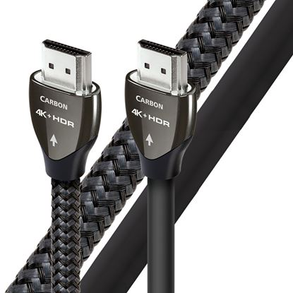 Picture of AUDIOQUEST Carbon 2M HDMI cable. 5% silver. Solid conductors.