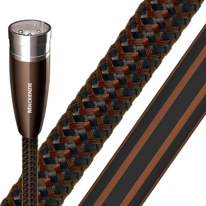 Picture of AUDIOQUEST Mackenzie 2M XLR to XLR pair. Solid Perfect-Surface