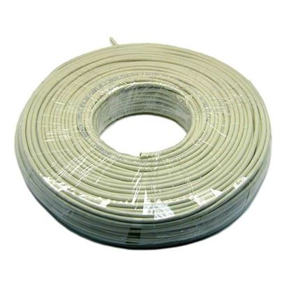 Picture of DYNAMIX 100m Cat6 UTP Beige STRANDED Cable Roll, 250MHz, 24