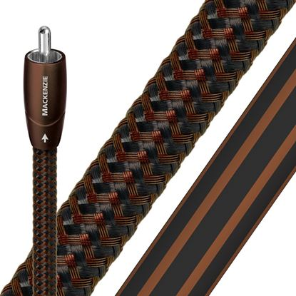 Picture of AUDIOQUEST Mackenzie 0.5M  1 to 1 RCA male. Solid perf surface copper