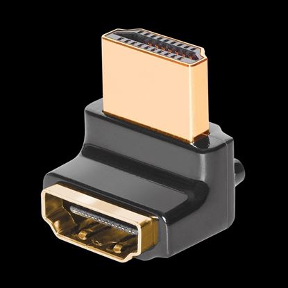 Picture of AUDIOQUEST HDMI 90 Degree - W adaptor. Wide side - W. Right angle