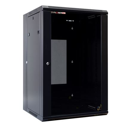 Picture of DYNAMIX LITE 18RU Swing Wall Mount Cabinet. Right hand mounted. The