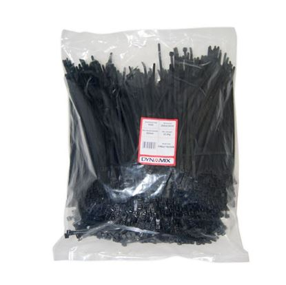 Picture of DYNAMIX 250mm x 4.8mm Cable Tie (Packs of 1000) - UV Resistant