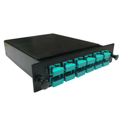 Picture of DYNAMIX MPO OM3/4 12 Port SC Simplex Multimode 12 Fibre