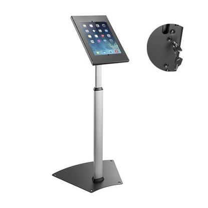 Picture of BRATECK Anti-Theft Height Adjustable Tablet Kiosk Floor Stand