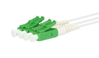 Picture of DYNAMIX PLC Fibre Optic 2:4 LC/APC Splitter Cassette Rear Input Module
