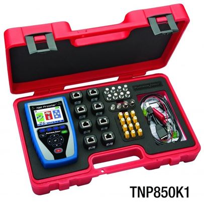 Picture of PLATINUM TOOLS Net Prowler PRO Test Kit. Kit includes: Net Prowler