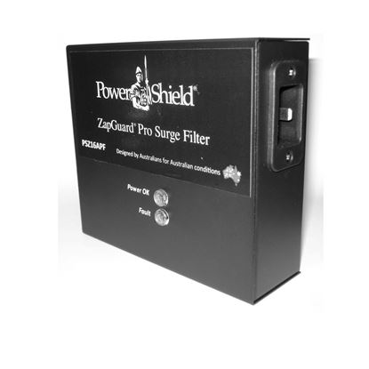 Picture of POWERSHIELD ZapGuard 16 Amp Surge Filter with IEC Input and Output.