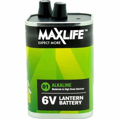 Picture of MAXLIFE 6V Alkaline Super Heavy Duty Single Battery.