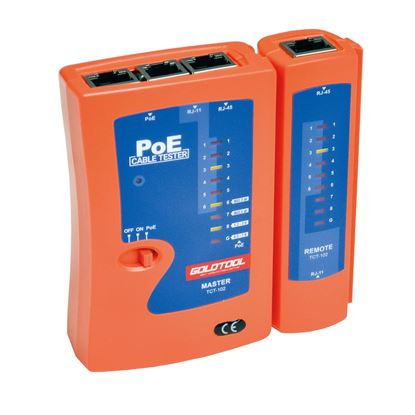 Picture of GOLDTOOL Combo POE & Cable Tester.