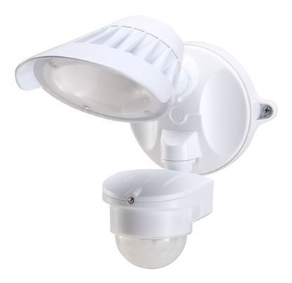 Picture of HOUSEWATCH 20W Single LED Spotlight with Motion Sensor. IP54. Passive