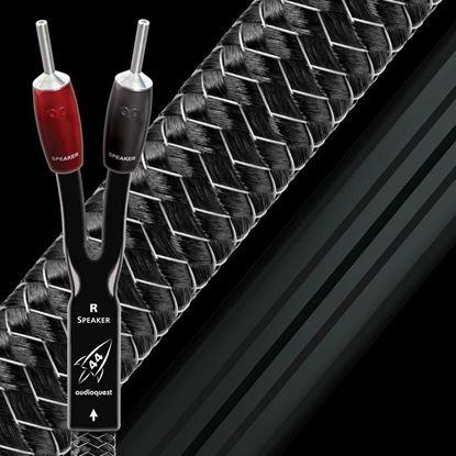 Picture of AUDIOQUEST Rocket 44 2M pair speaker cable. Full range.