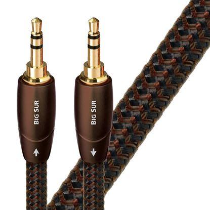 Picture of AUDIOQUEST Big Sur 2M 3.5mm M- 3.5mm M. Solid perf surface Copper
