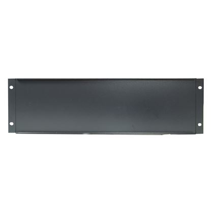 """Picture of DYNAMIX 3RU 19"""" Blanking Panel. Black Colour"""