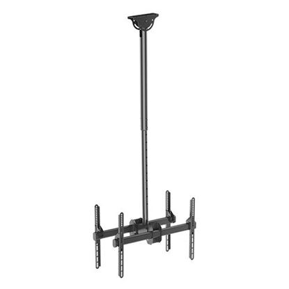 Picture of BRATECK  37'-75' Dual ceiling mount bracket for TV & commercial signage