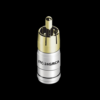 Picture of AUDIOQUEST ITC Connectors - 24 AWG - RCA - Gold (50 Pack) 68-002-53